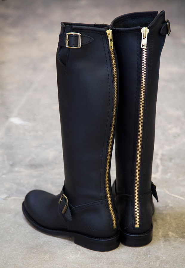 primeboots-old-crazy-black-gold